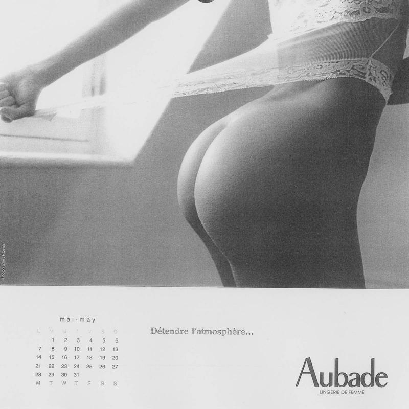 calendrier aubade 2001